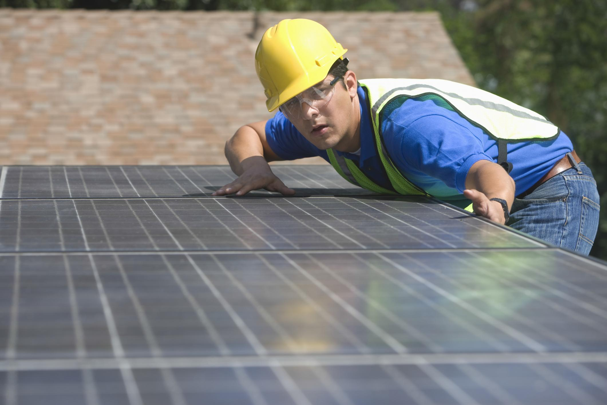 This is a picture of a Boise solar savers services.