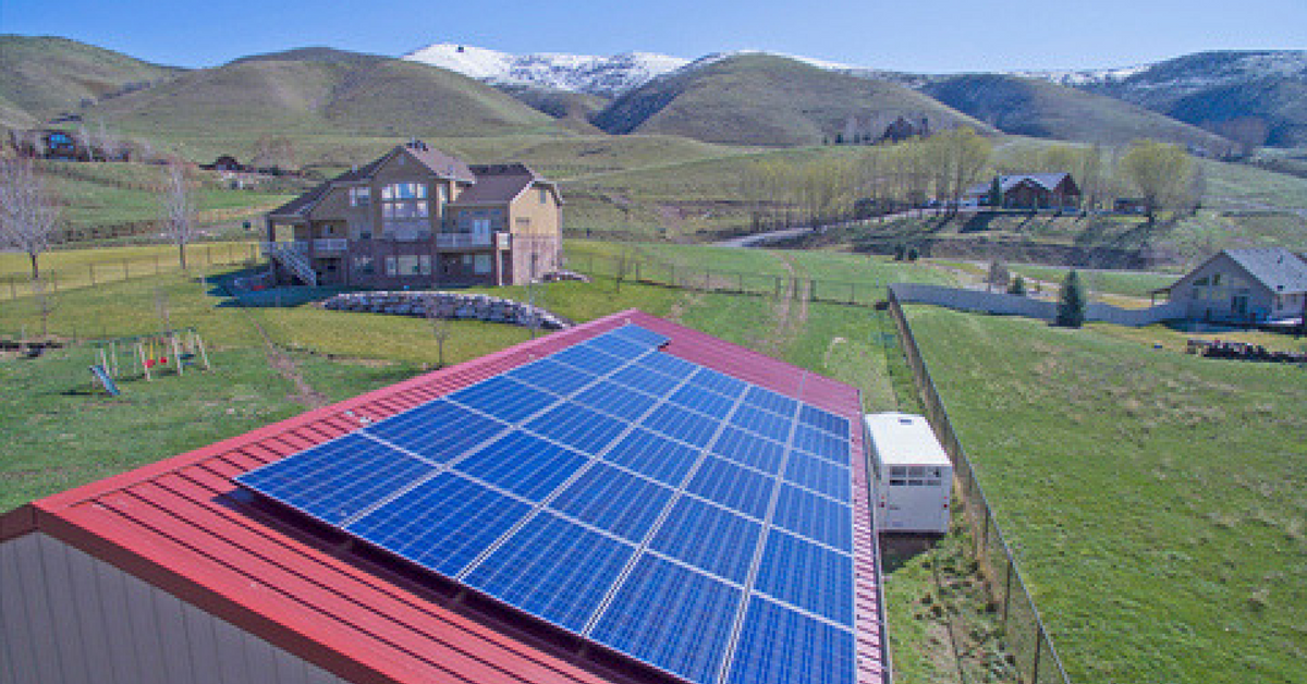 This is a picture of an Idaho solar incentives service.